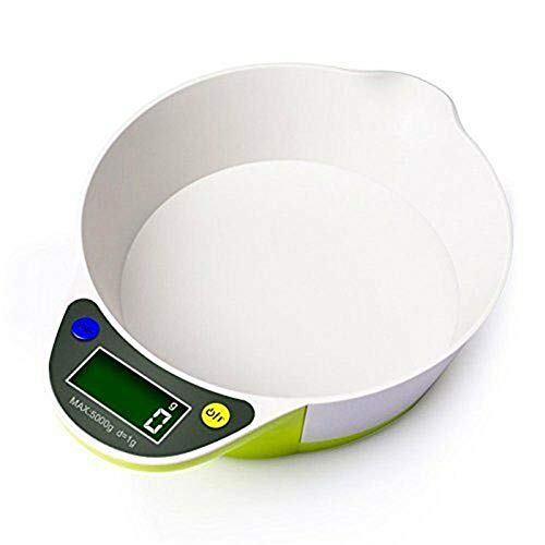 Draagbaar voedsel wegen Elektronisch multifunctioneel LCD-scherm Batterijvoeding Praktisch Evenwicht Bakken Keukenkom Weegschaal