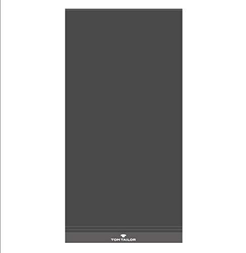 TOM TAILOR Handtuch-Set 3-teilig anthrazit 2 x Handtuch + 1 x Duschtuch UVP 44,97 €