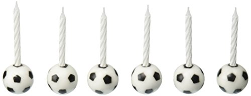 Oasis Supply Wax Soccer Ball Holder with Birthday Candles