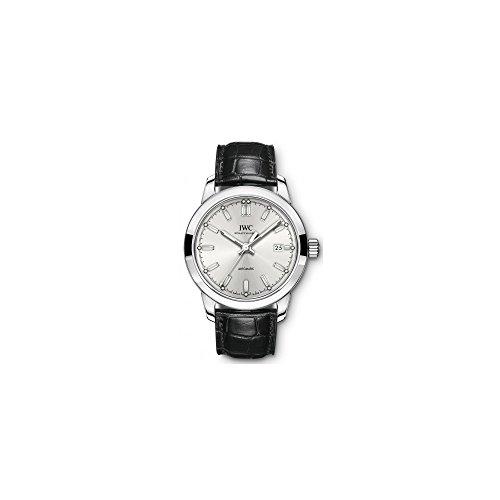 Iwc Ingenieur automatico argento quadrante mens orologio IW357001
