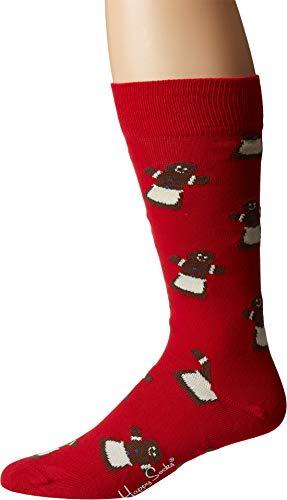 Happy Socks Gingerbread Woman Sock Red Men's Shoe Size 8-12