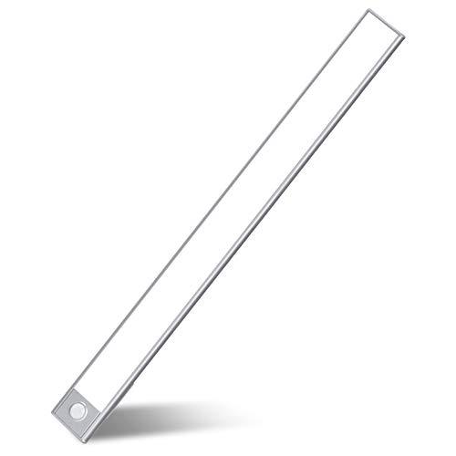 Wattaca LED Closet Light, Rechargeable Battery 70 LEDs Closet Light Ultra Slim Closet-Light with PIO Motion Sensor Under Cabinet Night Lighting