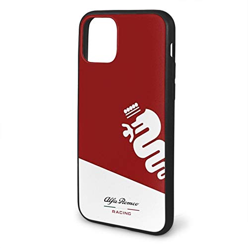 Alfa Galaxy Biscione Romeo Car Racing Custodia per Telefono Nera Compatibile con iPhone 12/12Pro Max 11 11 PRO Max XR XS SE 2020/7/8 6/6s Plus Samsung S21 Ultra Series Case
