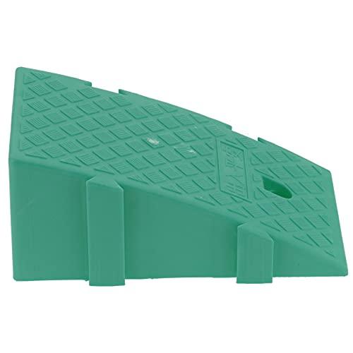 Rampa de carga, rampa de acera Plástico PP para muelles de carga para garajes de viviendas para entradas de viviendas para pendientes de acera(verde)