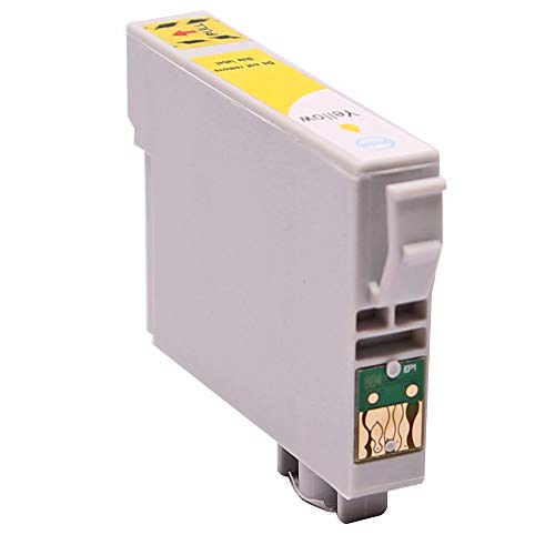 ABC - Cartuccia compatibile per Epson T0444, giallo, Stylus C64 Photo Edition C65 C66 C84 C84CN C84N C84PE WiFi C84WN C85 C86 CX3500 CX3600 CX3650 CX6400 CX6500 CX6600
