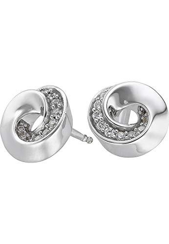 JETTE Silver Damen-Ohrstecker 925er Silber 20 Zirkonia One Size 86735521