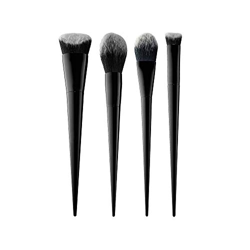 MEIYY Pinceau de maquillage 4Pcs Makeup Brush Set Foundation Eyebrow Eyeliner Blush Brushes Nylon Hair Beauty
