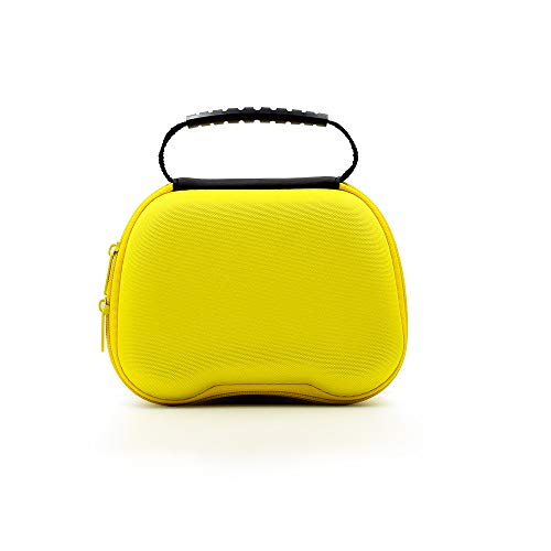 A nova bolsa de alça TwiHill é adequada para bolsa de armazenamento de alça de jogo PS5, bolsa de armazenamento conveniente acessórios PS5 (amarelo)
