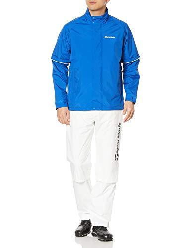 [テーラーメイドゴルフ] レインコート ‐ メンズ ブルー/ホワイト S