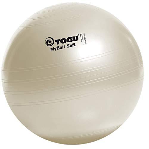 Togu Gymnastikball My-Ball Soft, perlweiß, 65 cm, 418651