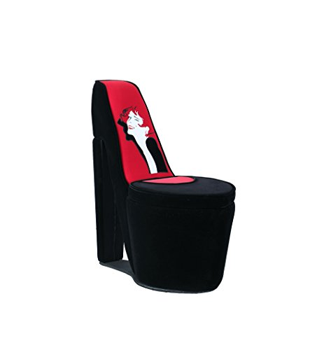 high heel shaped storage chair for sale