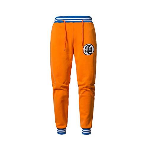 westtrend Herren Dragon Ball Jogginghose Bedruckte Stretch Casual Pants Outdoor Jogging Jogginghose Goku Pants