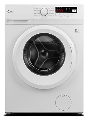 Midea MFNED85-1455 Waschtrockner / 8/ 5kg Waschen /Trocknen / Trommelreinigung- Erinnerung / 1400 U/min/ / Temperatur einstellbar / 60 Min. Waschen & Trocknen / AquaStop