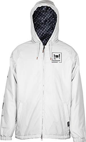 L1 Stooge JKT´21 - Chaqueta de esquí y snowboard para hombre, Hombre, Chaqueta aislada, 1211-873723-3002, Ghost, medium