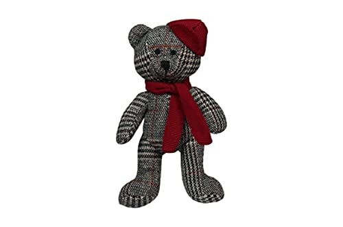 Scarlaroo Squeaky Dog Toys, present our Dog Teddy Toy for Pets Range of Soft Plush Bears. (Little Ted's Brother)
