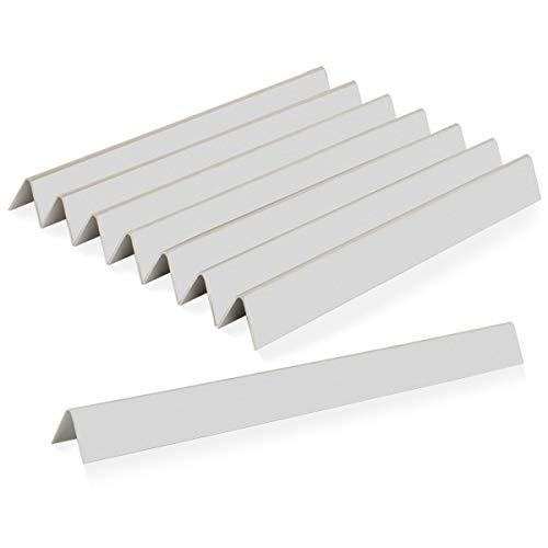 Stanbroil Stainless Steel Flavorizer Bars Fit Weber Summit 400 Series Summit E/S 450/440/460/470 Gas Grills with a Smoker Box, Replacement Parts for Weber 67668, 8 PCS Grill Heat Plates