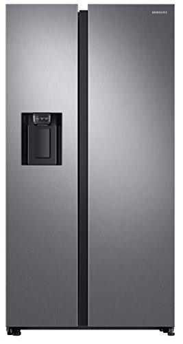 Samsung RS68N8220S9 frigorifero side-by-side Libera installazione Nero, Acciaio inossidabile 617 L A+