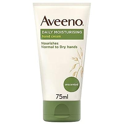 Aveeno Daily Moisturising Hand Cream, For Normal to Dry Hands, 75ml by Johnson Johnson