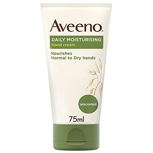 Crema para manos natural Aveeno