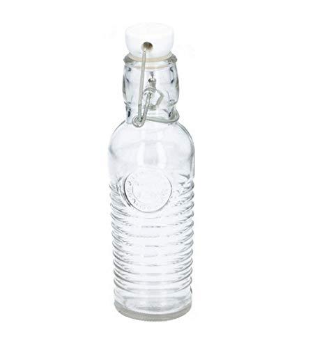 Alpina - beugelfles 250 ml glas transparant - Transparant