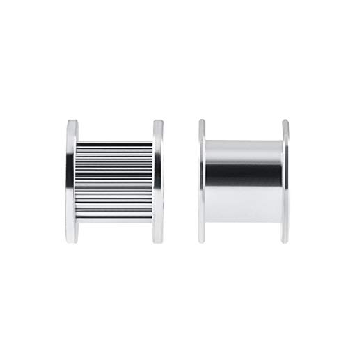 5pcs GT2 Idler Timing Pulley 16/20 Tooth Wheel Bore 3/5mm Aluminium Gear Teeth Width 6/10mm 3D Printers Parts for Reprap Part (Bore Diameter : 16T W6 B3 with T)