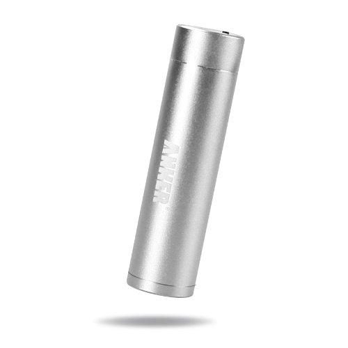 ANKER Asto Mini モバイルバッテリー 3000mAh 小型 軽量 スティックタイプ シルバー iPhone5S 5C 5 4S / iPod / Galaxy / Xepria / Android / 各種スマフォ / Wi-Fiルータ等対応(日本語説明書付き)(silver)。