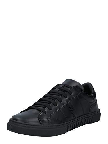 Antony Morato Sneaker Ink Strike IN Pelle, Oxford Plano Hombre, Negro, 42 EU