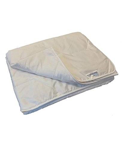 Isleep Sommer Bettdecke Bambus Comfort - Einzel -240 x 220-weiß