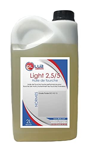 DLLUB - HUILE DE FOURCHE FORK LIGHT 2.5/5-2 litres