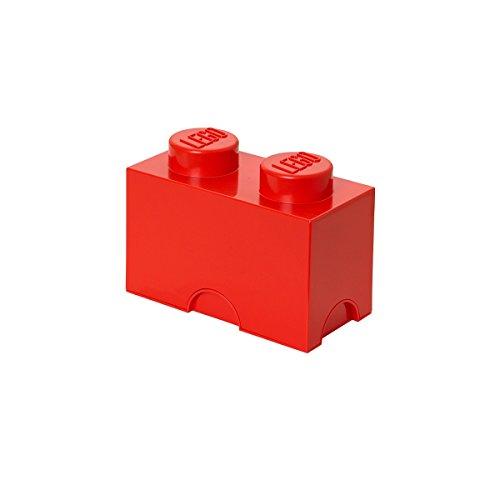 LEGO Stockage de Brick 2 rouge moyen