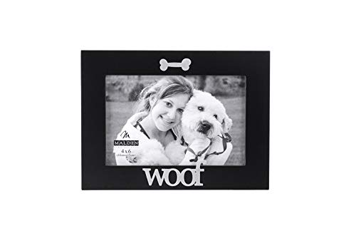 Mejor Dog Picture Frame in the Shape of Dog House; Dog Lover Gift or Dog Memorial Picture Frame for Loss of Dog. Dog Picture Frame has hook to hang Dog Tags for this Pet Memorial Picture Frame crítica 2020