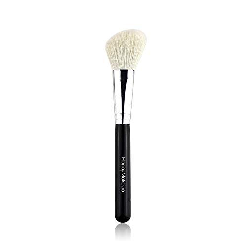 Make-up Pinsel Einzelne Woll-Trimmbürste Schrägwinkel Rouge Pinsel Kontur Schattenbürste Tierhaar Make-up-Tool