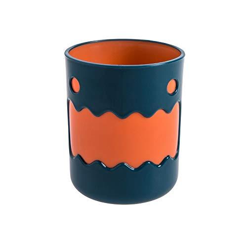 XVXFZEG Baño Vaso Copa irrompible dental enjuague Copa, suave y fácil de agarrar, Cepillo de dientes organizador for Niños y Adolescentes de baño de los niños historieta de la taza de los amantes de c