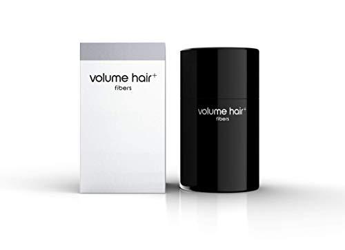 Volum Hair + ® Fibers Haarverdichting, voor vrouwen en mannen, 12 g, haarvezel voor leuk echt haar, ook om de baard te camoufleren 12g Lichtblond (Light Blonde)