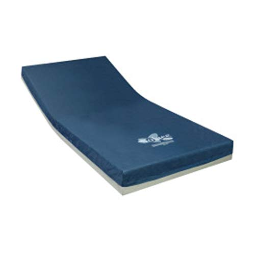 "Invacare Solace Performance Fluid-Resistant Hospital Mattress, 80"" Length, 36"" Width, 6"" Height, SKS1080"