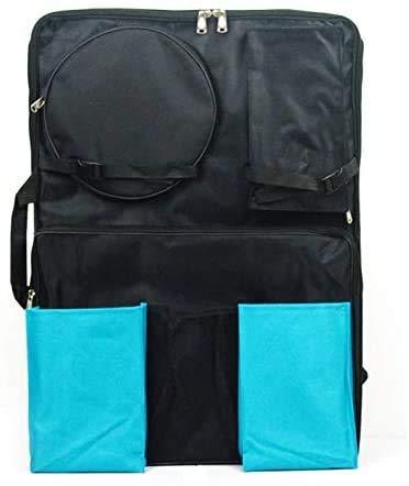 Studenten und Bürobedarf MMGZ 5 PCS 4K Schwarz wasserdichte bewegliche Skizze Anstrich-Brett-Tasche mit Zwei Taschen große Kapazitäts-Spielraum-Schulter Sketchpad Zeichnung Tasche Die hohe qualität.