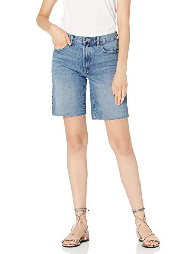 The Drop Women's Jennifer Cut-Off Vintage Denim Long Short
