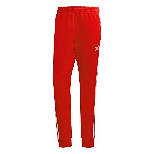 adidas GF0208 SST TP P Blue Pantaloni Sportivi Uomo Scarlet/White M