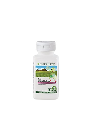 Amway Nutrilite Kids Chewable Iron Tablets - 100 Numbers