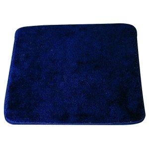 MSV Tapis Acrylique de Bain Bleu Marine 80x50, Latex