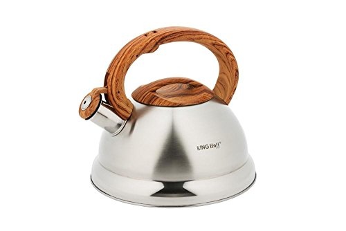 STAINLESS STEEL WHISTLING KETTLE 3.0L KINGHOFF KH-3336 by KING HOFF