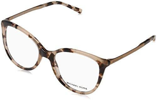 Michael Kors Damen Antheia Sonnenbrille, Braun (Rosa Schildpatt), 50