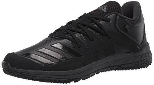 adidas Men's Speed Turf Synthetic Baseball Shoe, core Black/Carbon/core Black, 9.5 M US