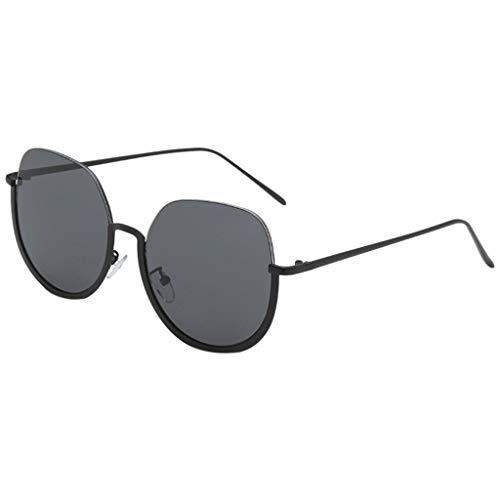 Harpily Unisex Sonnenbrille MäNner Und Frauen PersöNlichkeit Brillengestell Trendy Punk Wind Brillengestell Retro Brille Stil