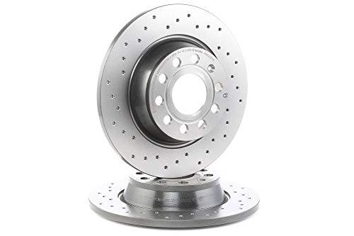 Preisvergleich Produktbild BREMBO 08.A202.1X Bremsscheibe Scheibenbremsen,  Bremsscheiben (x2)
