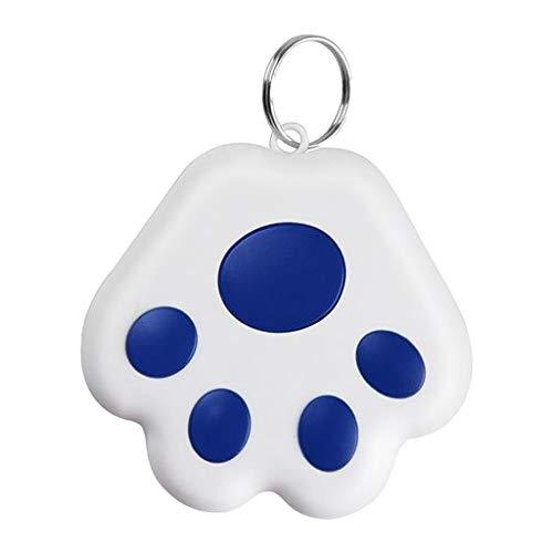Gazechimp Smart Mini, Haustier Hund Katze GPS Tracking Gerät Tracer Smart Finder Tracking Gerät GPS Pet Tracker Finder Ausrüstungen für Hund Katze - Dunkelblau