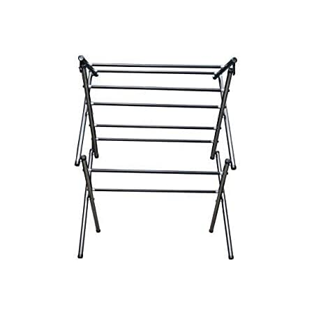 Globe Foldable Baby Cloth Drying Rack with Heavy 8 Rode