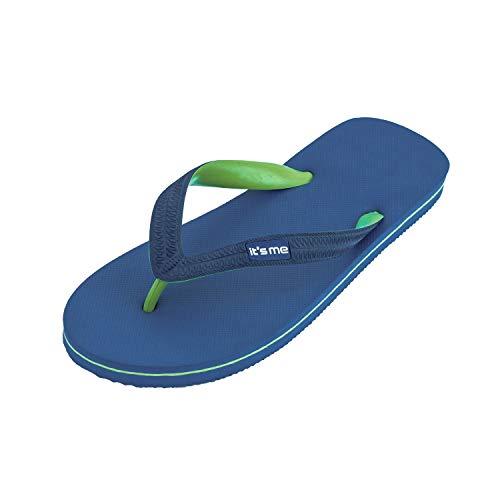 It's me Flip Flops Herren | die weichsten Flip Flops Aller Zeiten | 100% Naturkautschuk | Basic Style | schadstofffrei | 0% PVC | [12]