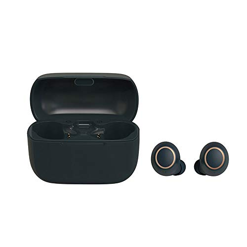 Qin True Wireless Earbuds Bluetooth 5.0 Headphones Touch Control with Wireless Charging Case IPX5 Waterproof HiFi Stereo Earphones in-Ear Built-in Mic Headset Premium Deep Bass for Sport
