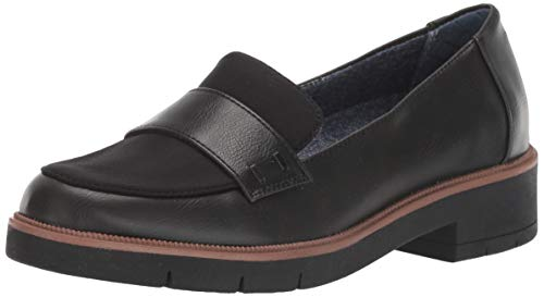 Dr. Scholl's Shoes Women's Grow UP Loafer, Black, 11 M US